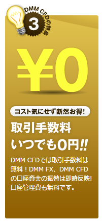 DMM CFD 手数料